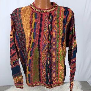 Coogi Australia Sweater Vintage Cosby Hip Hop 90s